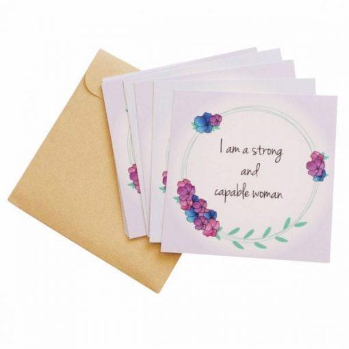 flower crown birth affirmation prints