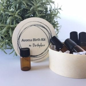 essential oils for birth