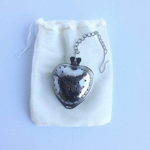 Tea Diffuser & Cotton Tea Bag