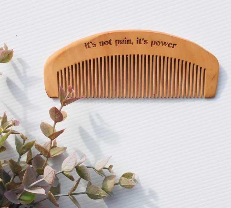 Using a Comb during Labour