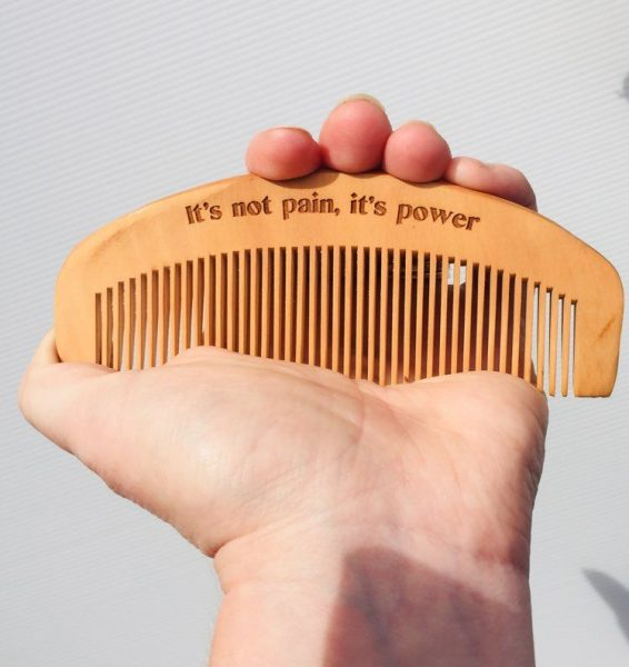Wooden Birth Comb