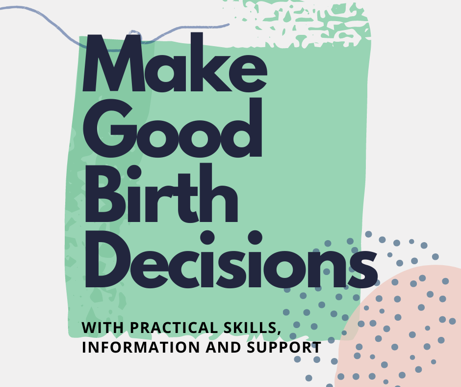 BIRTHPLACE BIRTH DECISIONS COURSE