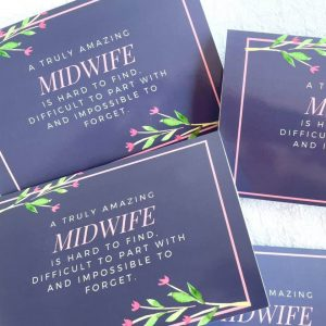 Midwife Thank You Card