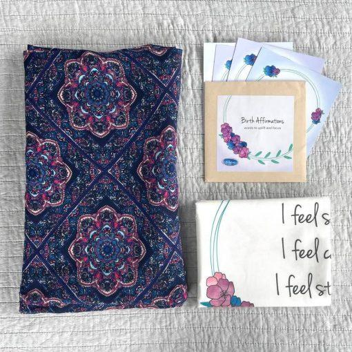 Purple Mandala Birthplace Comfort Kit