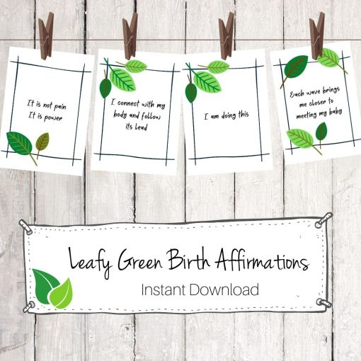 Leafy Green Affirmation Download